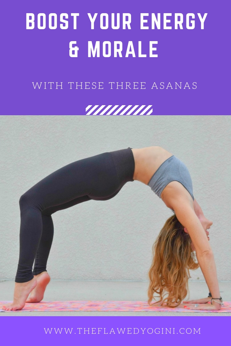 It is possible to increase your energy and enhance your mood through asana yoga. Here are three advanced poses to try. #yoga #asana