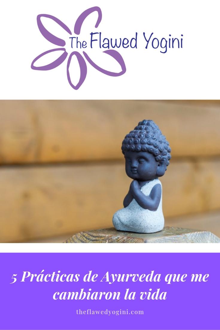 El Ayurveda es el sistema de medicina tradicional de la India. Estas cinco prácticas diarias me cambiaron la vida. #ayurveda #salud #yoga