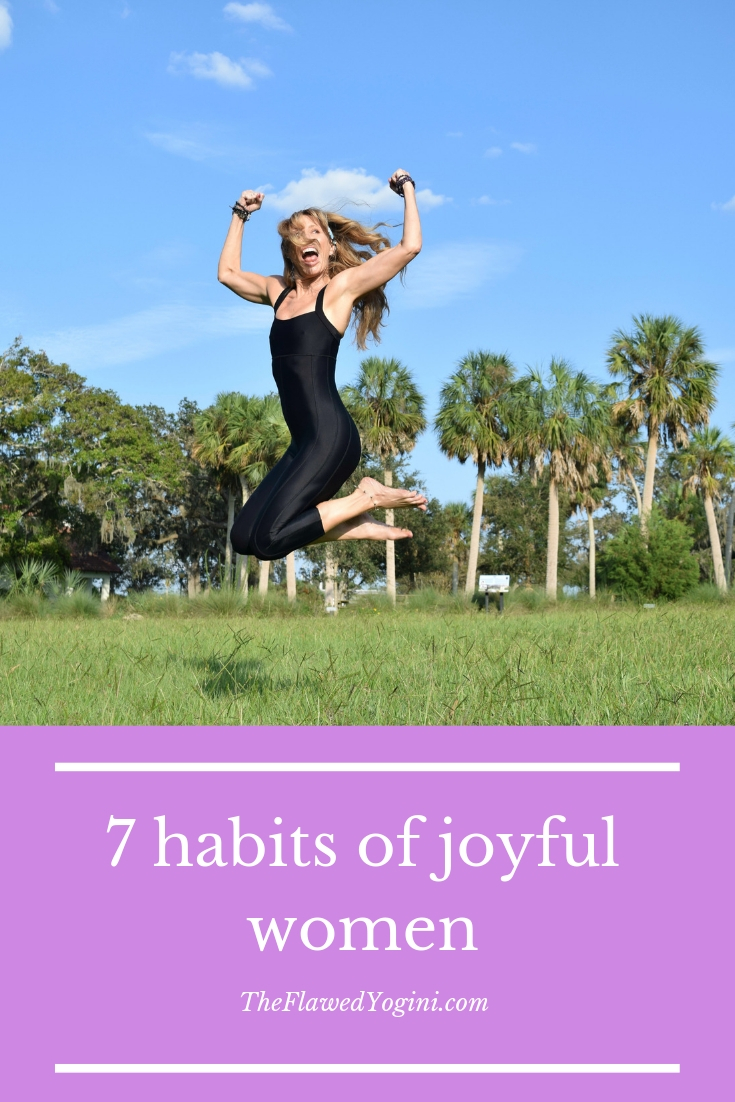 Being joyful doesn' t mean that you have no problems. It means you have the tools to deal with the curve balls life throws your way. #joy #mindfulness #yoga