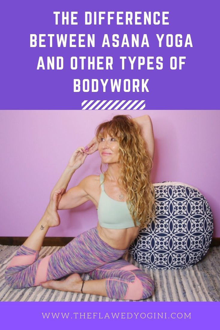 The difference between asana yoga and other types of bodywork is simple. And it may be different for everyone. #asana #yoga