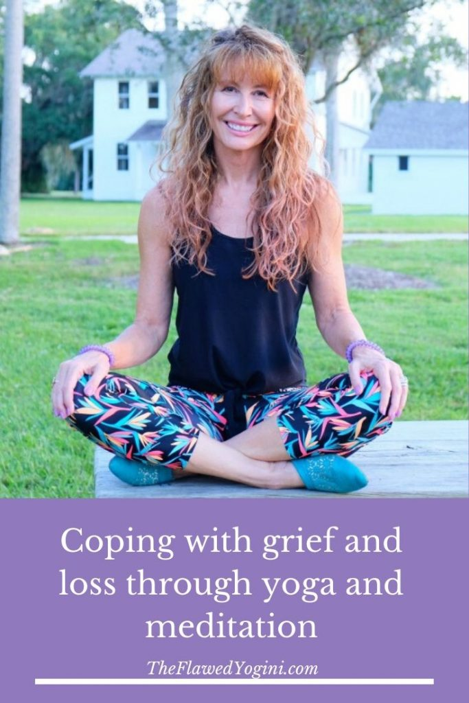 We all deal with grief and loss at some point in our lives. Here is how yoga and meditation have helped me navigate it recently. #loss #yoga #meditation